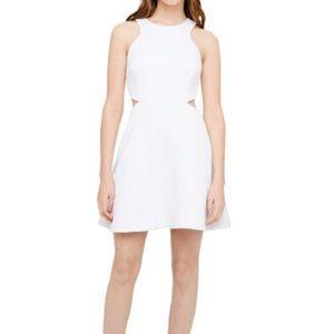 Club Monaco Charis Cut-Out White Dress ~ Size 8